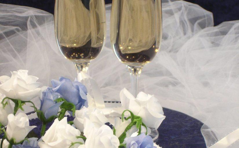 Mat och dryck på bröllopet